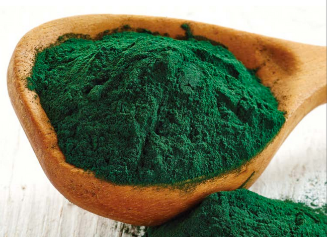 Spirulina in the Spa