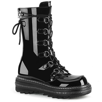 """**1 1/4"""" PF Lace-Up Mid-Calf Boot, Back Zip"""