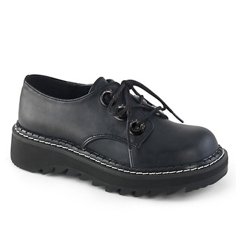 "1 1/4"" PF 3-Eyelet Lace-Up Oxford Shoe"