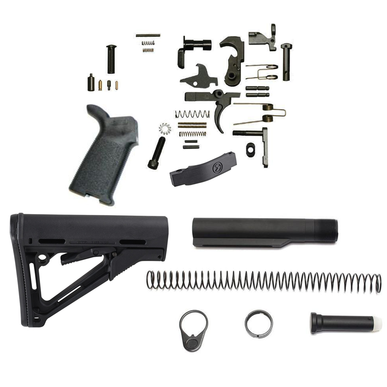 Magpul CTR Lower Build Kit (Black)