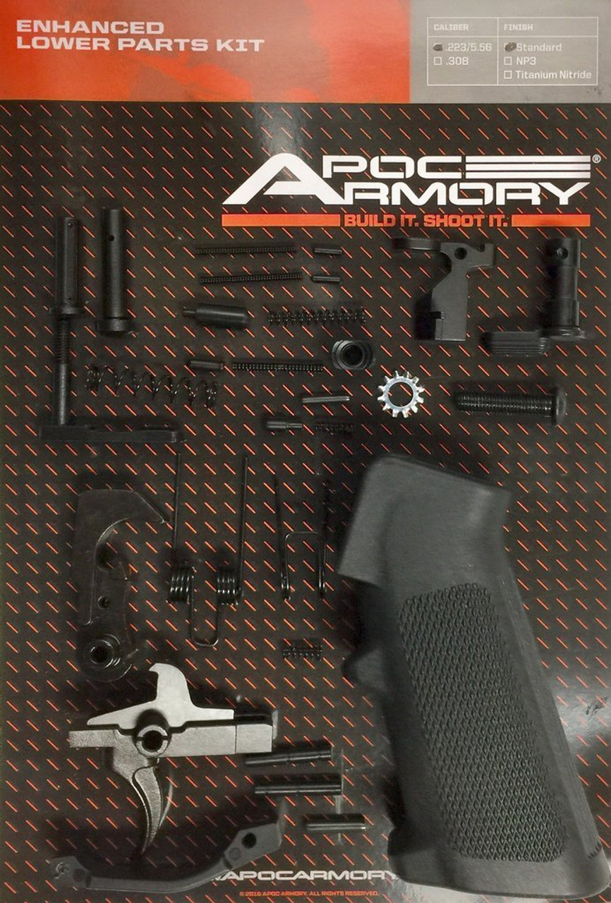 APOC ARMORY Enhanced Lower Parts Kit