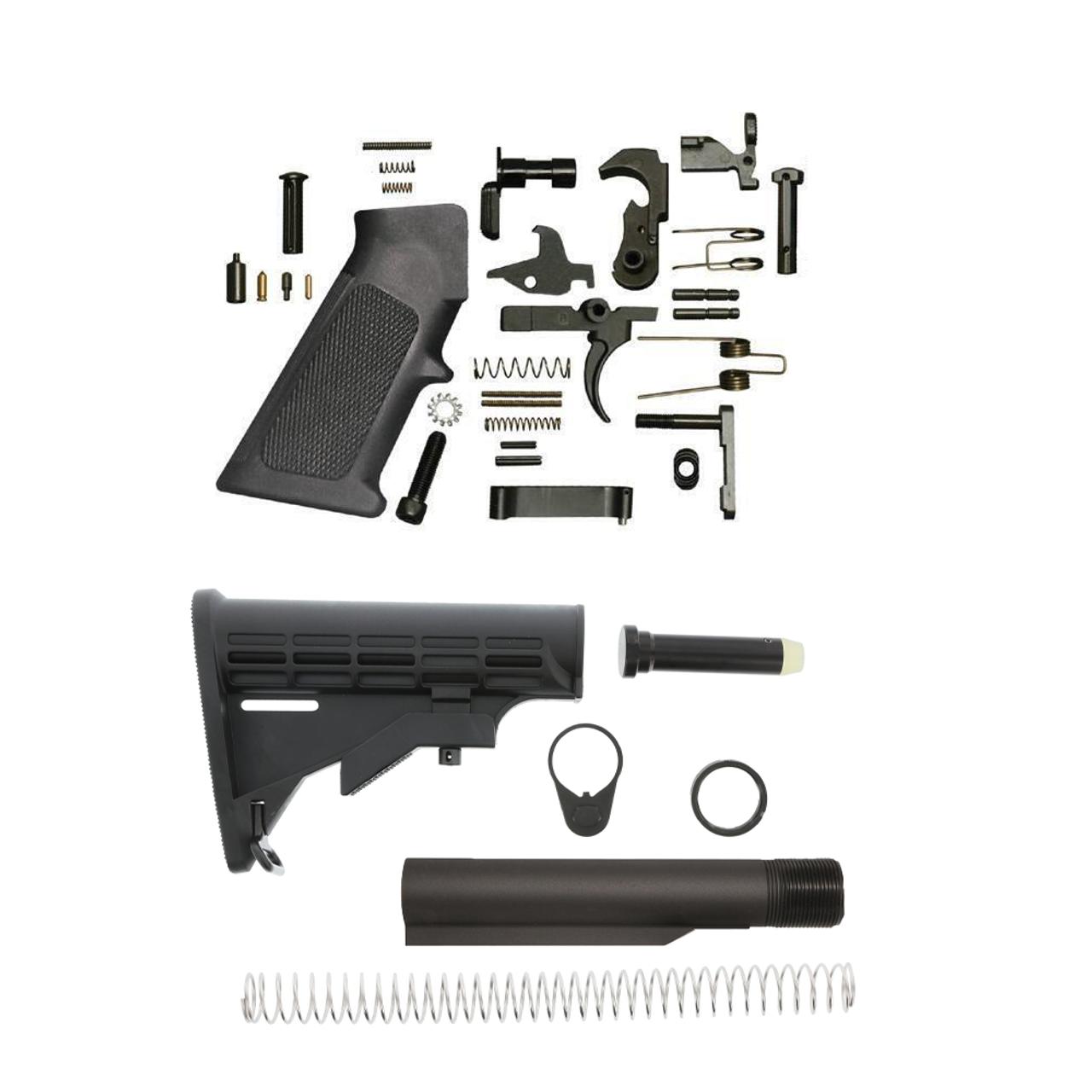 AR 15 Lower Build kit, AR 15 Lower Kit, AR 15 Lower Parts
