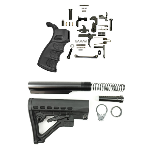 Omega Lower Build Kit W/DMR Grip