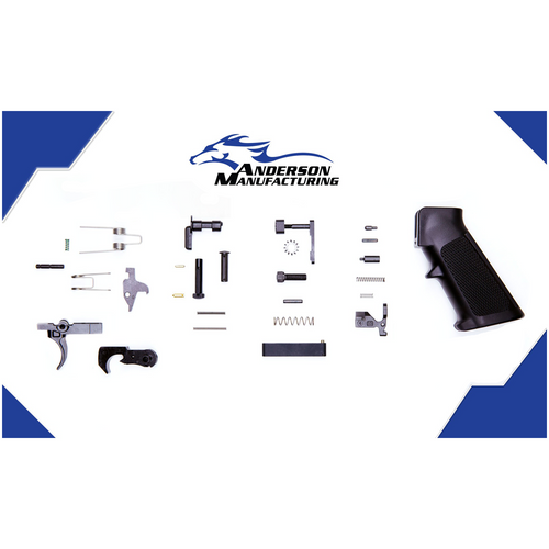 Anderson AR 15 Lower Parts Kit - Stainless, AR 15 LPK, AR 15 Lower Parts Kit