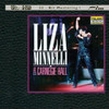 Liza Minnelli Highlights From The Carnegie Hall Concert Ultra HD CD