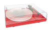 Certified Pre-Owned Pro-Ject Debut Carbon DC Turntable with Ortofon 2M Red Cartridge (Gloss Red)
