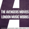 The London Music Works Music From the Avengers Movies Numbered Limited Edition LP