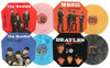 """The Beatles The Complete 7"""" Italian Discography Import 4LP Box Set (Color Vinyl)"""