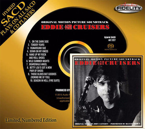 John Cafferty & The Beaver Brown Band Eddie and the Cruisers Soundtrack Numbered Limited Edition Hybrid Stereo SACD