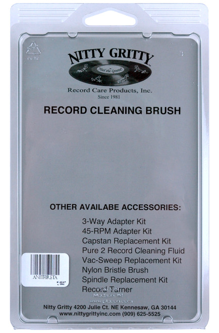 Nitty Gritty Record Cleaning Brush (Black)
