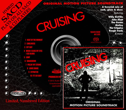 Cruising Soundtrack Numbered Limited Edition Hybrid Stereo SACD