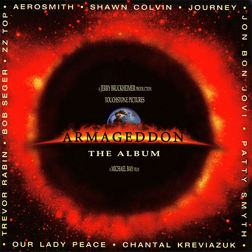 Armageddon The Album Numbered, Limited Edition 180g 2LP (Red Vinyl)
