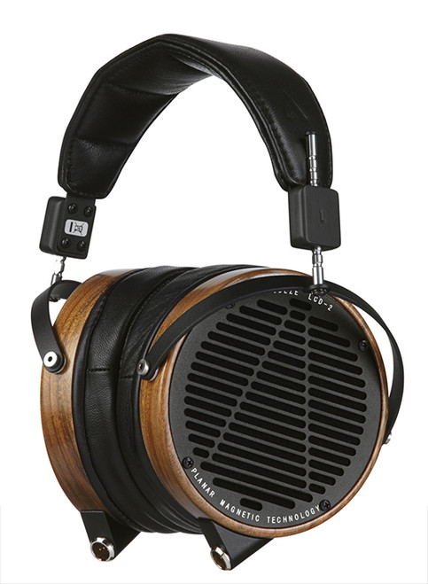 Audeze LCD-2 High-Performance Planar Magnetic Headphones (Shedua, Lambskin, Ruggedized Travel Case)