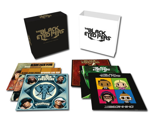 The Black Eyed Peas The Complete Vinyl Collection 180g 12LP Box Set
