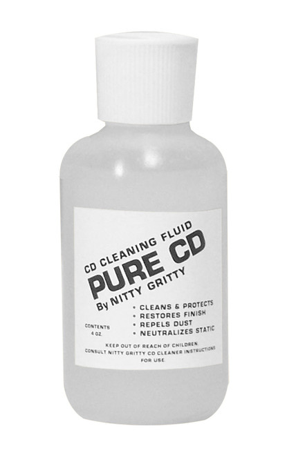 Nitty Gritty Pure CD Cleaning Fluid (4 Ounces)