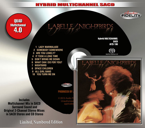 Labelle Nightbirds Numbered Limited Edition Hybrid Multi-Channel & Stereo SACD