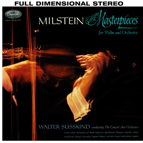 Nathan Milstein Masterpieces For Violin And Orchestra 180g Import LP