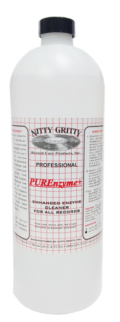 Nitty Gritty PUREnzyme+ Record Cleaning Fluid (32 Ounces)