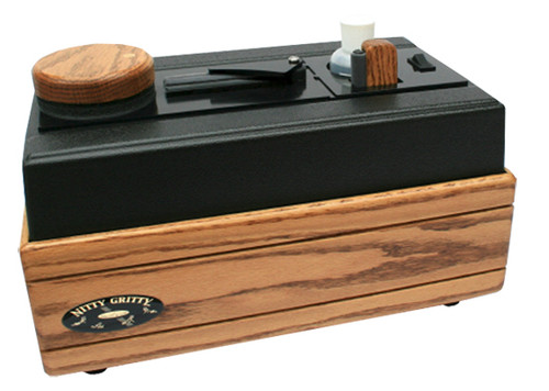 Open Box Nitty Gritty Record Master 2 Record Cleaner (Solid Oak) (220V)