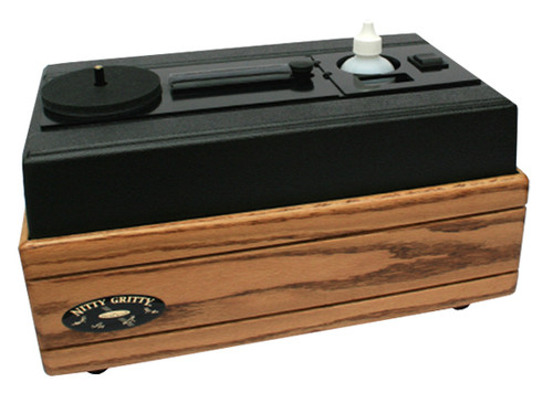 Nitty Gritty Model 2.5 Record Cleaner (Solid Oak)