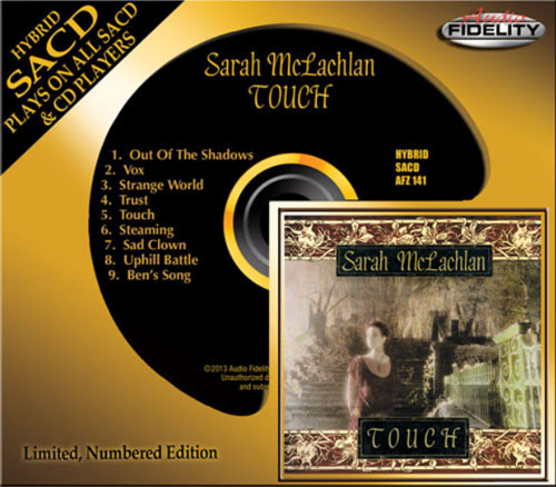 Sarah McLachlan Touch Numbered Limited Edition Hybrid Stereo SACD