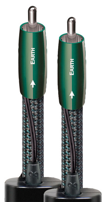 AudioQuest Earth 2.0M Pair RCA Interconnect Cable