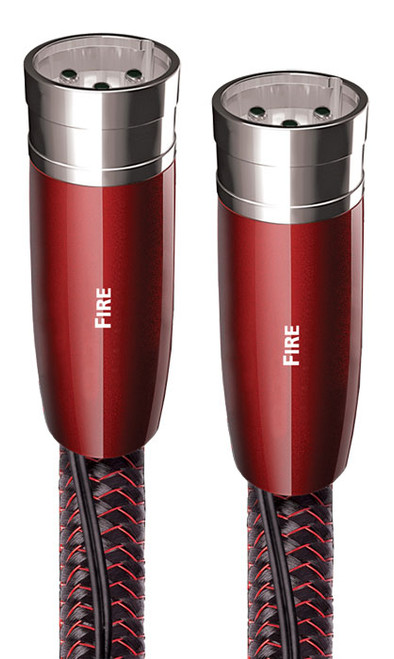 AudioQuest Fire 0.5M Pair XLR Interconnect Cable
