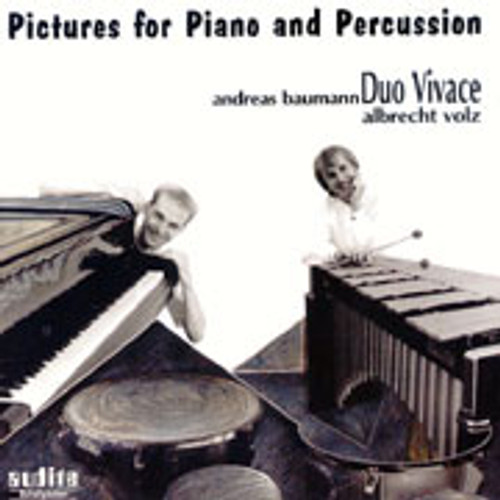 Duo Vivace Pictures for Piano and Percussion CD