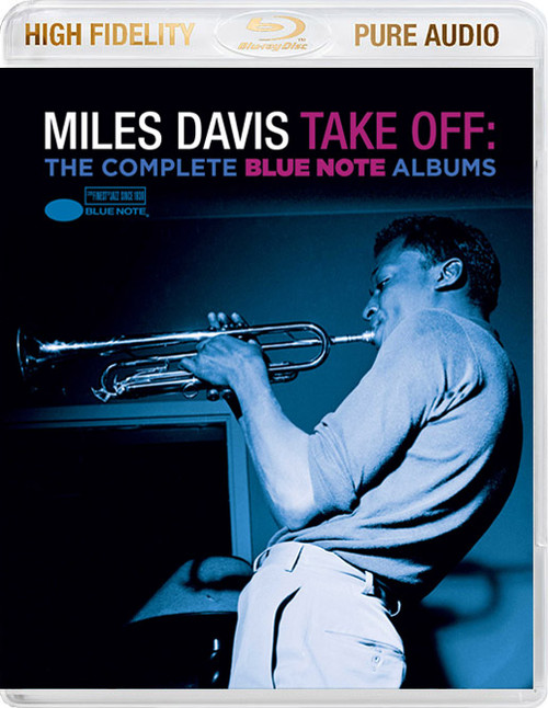 Miles Davis Take Off: The Complete Blue Note Albums Blu-Ray Pure Audio Disc