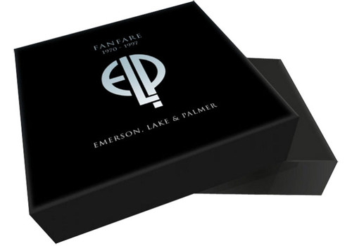 """Emerson, Lake & Palmer Fanfare 1970-1997 Numbered Limited Edition Deluxe Box Set (3LP/18CD/1Blu-Ray/2 7""""/Book)"""