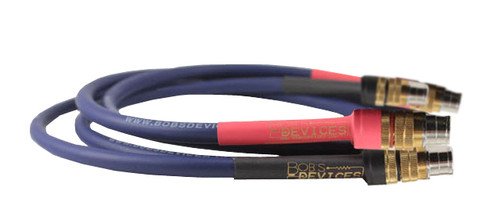 Bob's Devices SCC Conductor 1M Pair XLR Cardas Interconnect Cable