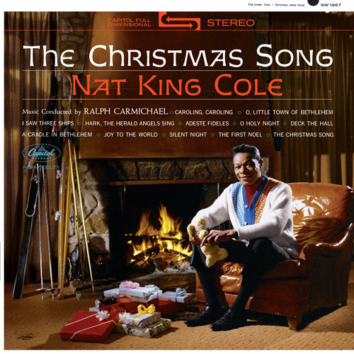 Nat King Cole The Christmas Song LP