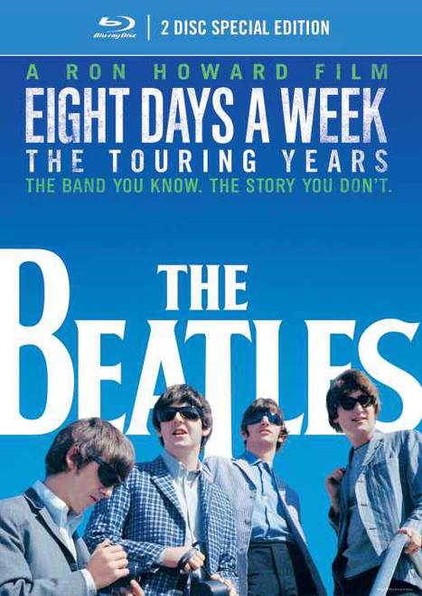 The Beatles Eight Days A Week - The Touring Years 2Blu-Ray Video Disc