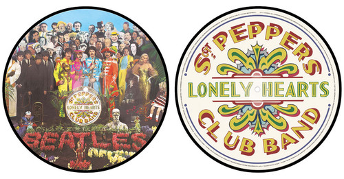 The Beatles Sgt. Peppers Lonely Hearts Club Band LP (Picture Disc)