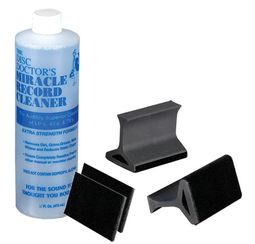 The Disc Doctor's Record Cleaning Kit 2