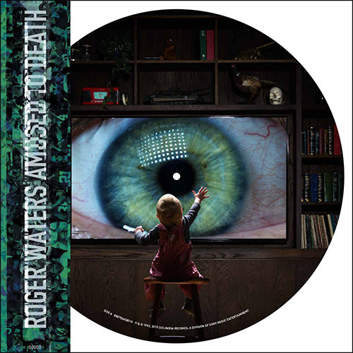 Roger Waters Amused to Death Numbered Limited Edition 150g 2LP (Picture Disc)