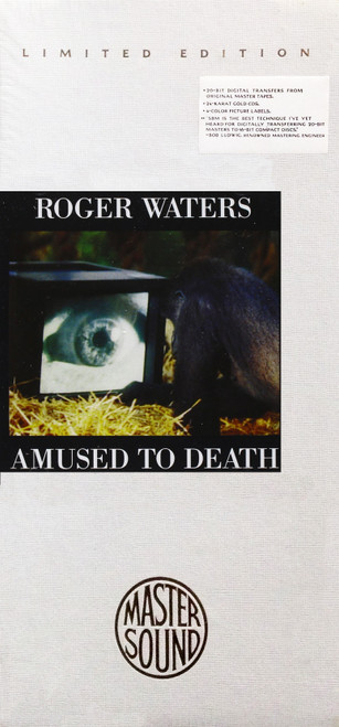 Roger Waters Amused To Death Gold CD (Long Box)