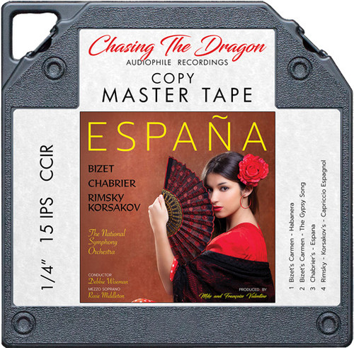 Espana: A Tribute To Spain Master Quality Reel To Reel Tape