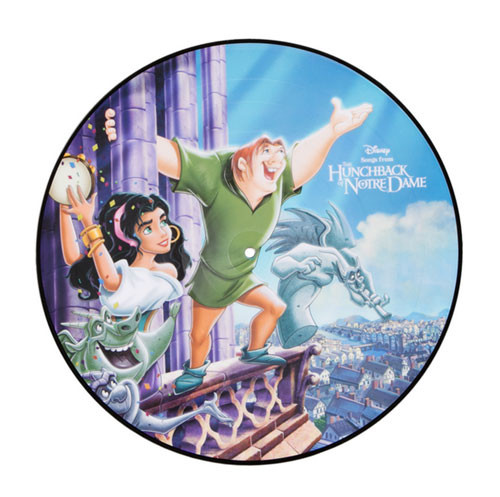 Songs From The Hunchback Of Notre Dame Soundtrack 180g LP (Picture Disc)