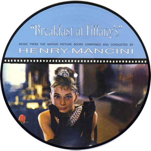 Henry Mancini Breakfast at Tiffany's Soundtrack Import LP (Picture Disc)