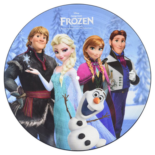 Songs From Frozen Soundtrack LP (Picture Disc)