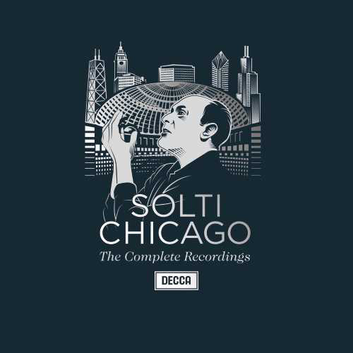 Georg Solti Chicago: The Vinyl Edition Numbered Limited Edition 180g 6LP Box Set