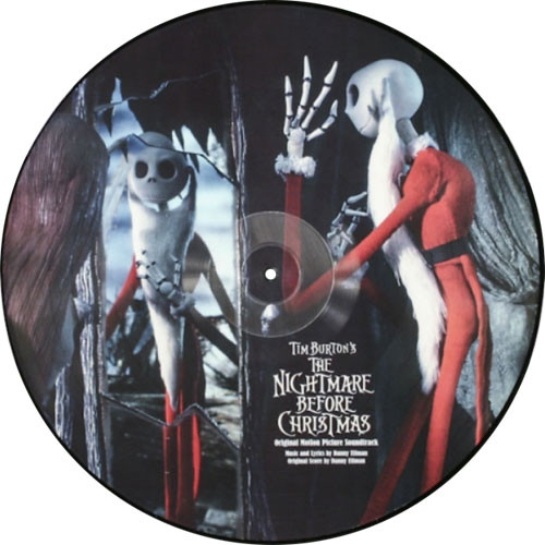 Danny Elfman The Nightmare Before Christmas Soundtrack 2LP (Picture Disc)