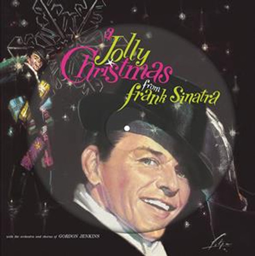 Frank Sinatra A Jolly Christmas From Frank Sinatra 180g LP (Picture Disc)
