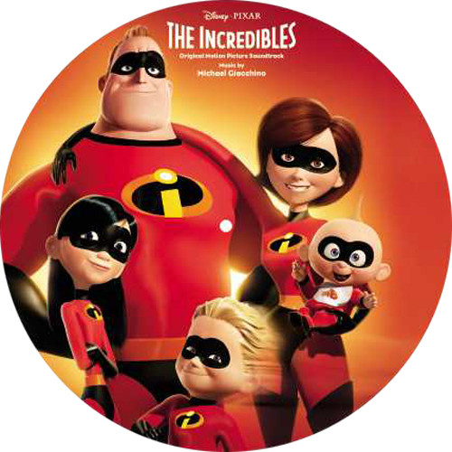 Michael Giacchino The Incredibles Soundtrack LP (Picture Disc)
