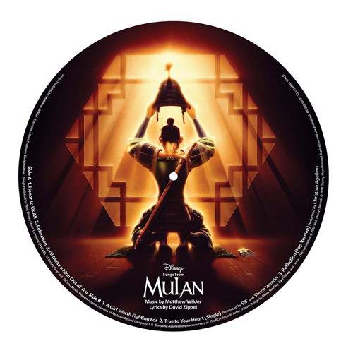 Songs From Mulan LP (Picture Disc)
