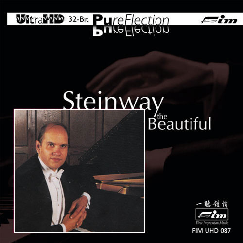 Todd Crow Steinway The Beautiful Limited Edition Ultra HD CD