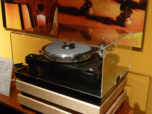 Gingko Audio VPI Prime Turntable Table Top ClaraVu Dust Cover