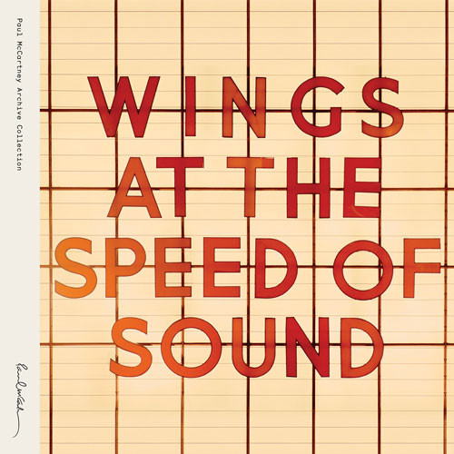 Paul McCartney & Wings At the Speed of Sound 180g 2LP
