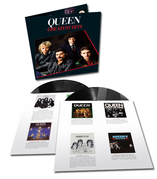 Queen Greatest Hits I Half-Speed Mastered 180g 2LP